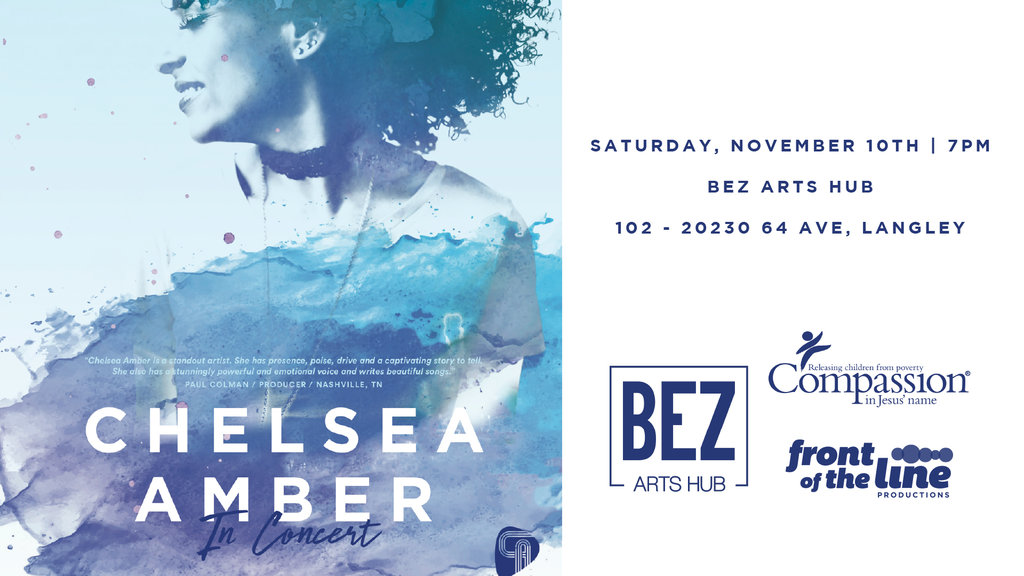 Chelsea Amber @ Bez Arts Hub - Nov 10, 2018 Langley BC