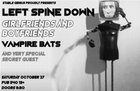 Left Spine Down, The Gathering, The Vampire Bats, Borg Queen  @ Pub 340 Oct 27 2018 - Aug 6th @ Pub 340