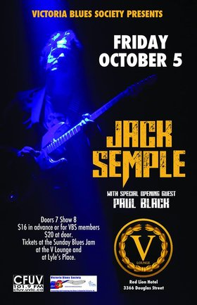 Jack Semple, Paul Black @ V-lounge Oct 5 2018 - May 29th @ V-lounge