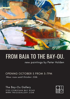 From Baja to The Bay-Ou @ The Ou Gallery Oct 5 2018 - Jan 23rd @ The Ou Gallery