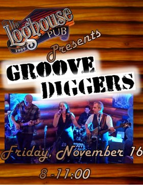 Groove Diggers, Tomo Vranjes, Jeff Weaver @ Loghouse Pub Nov 16 2018 - Dec 9th @ Loghouse Pub