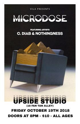C.DIAB, Nothingness @ Upside Studios Oct 19 2018 - Oct 28th @ Upside Studios