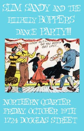 Slim Sandy and the Hillbilly Boppers @ Northern Quarter Oct 19 2018 - Dec 8th @ Northern Quarter