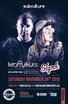 Krafty Kuts & Slynk w/ Flavours at SUBculture Saturday