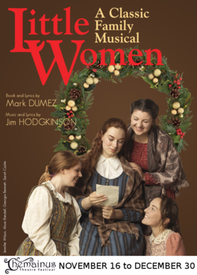 Little Women @ Chemainus Theatre Festival Dec 30 2018 - Dec 11th @ Chemainus Theatre Festival