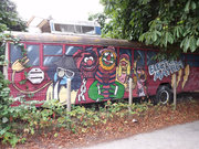 tour bus for Electric Mayhem by  Peter Allen
