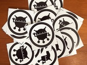 stickers by  Peter Allen