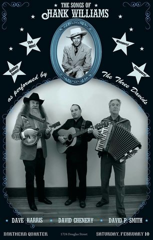 The Songs of Hank Williams: Three Davids Do Hank