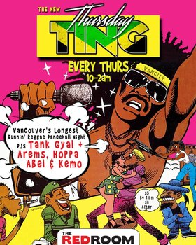 TING! w/ DJ Hoppa & Tank Gyal @ The Red Room Dec 13 2018 - Feb 17th @ The Red Room