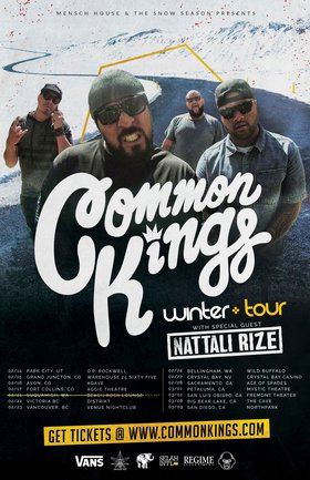 Common Kings @ Venue Feb 23 2019 - Apr 19th @ Venue