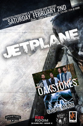 Jetplane, The Oakstones, Quadra Sound @ The Red Room Feb 2 2019 - Feb 17th @ The Red Room