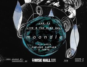 Moondle, Parlour Panther, Tonye @ WISE Hall Jan 24 2019 - Feb 17th @ WISE Hall