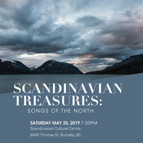 Scandinavian Treasures: Songs of the North: Vancouver Cantata Singers @ Scandinavian Cultural Centre May 25 2019 - Apr 25th @ Scandinavian Cultural Centre