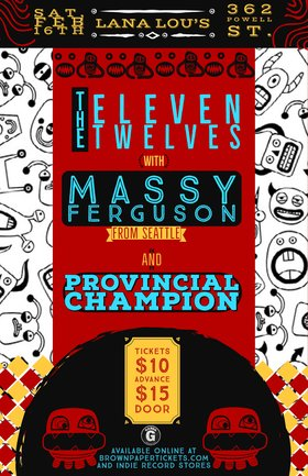 The Eleven Twelves, Massy Ferguson, Provincial Champion @ LanaLou