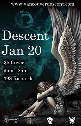 Descent Gothic January @ The Red Room Jan 20 2019 - Feb 17th @ The Red Room