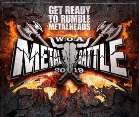 Wacken Metal Battle BC Round 2 @ The Red Room Mar 10 2019 - Aug 22nd @ The Red Room