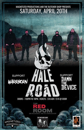 Hale Road, Warrborn, Damn The Device @ The Red Room Apr 20 2019 - Jul 23rd @ The Red Room
