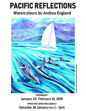 Pacific Reflections: Andrea England @ The Arts Centre at Cedar Hill  Jan 23 2019 - Mar 8th @ The Arts Centre at Cedar Hill