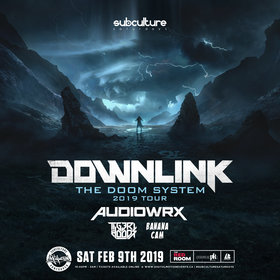 The Doom System Tour: DOWNLINK @ The Red Room Feb 9 2019 - Feb 17th @ The Red Room
