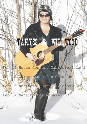 From Edmonton: Tanyss & Wildwood @ Northern Quarter Feb 16 2019 - Feb 18th @ Northern Quarter