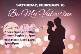 Be My Valentine: The Midnights, Jon Baglo, Nick La Riviere, Eric Emed @ Elements Casino - Victoria Feb 3 2019 - Oct 27th @ Elements Casino - Victoria