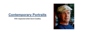 Contemporary Portraits with: David Goatley @ Ladysmith Waterfront Gallery Mar 6 2019 - Mar 20th @ Ladysmith Waterfront Gallery