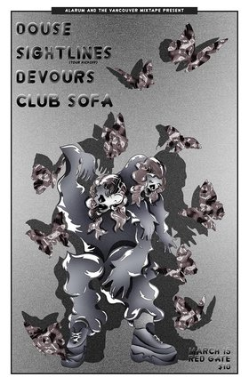 Douse, Sightlines, DEVOURS, Club Sofa @ The Red Gate Mar 15 2019 - Sep 23rd @ The Red Gate