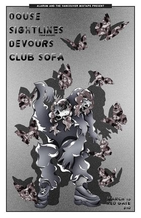 Douse, Sightlines, DEVOURS, Club Sofa @ The Red Gate Mar 15 2019 - Apr 19th @ The Red Gate