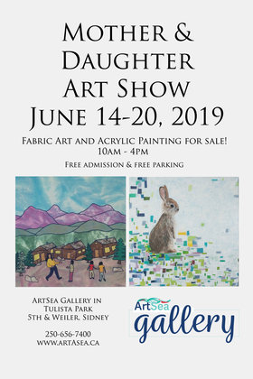 Mother & Daughter Art Show: Margo Styan, Selena Styan @ ArtSea Gallery Jun 14 2019 - Apr 21st @ ArtSea Gallery