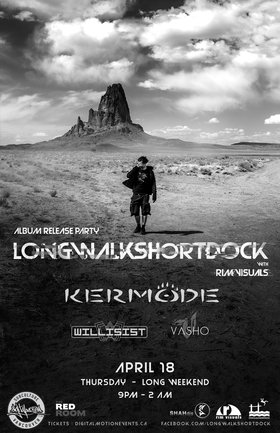 Longwalkshortdock, RIM Visuals, KERMODE @ The Red Room Apr 18 2019 - Apr 25th @ The Red Room