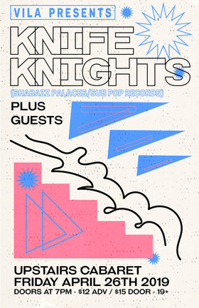 Knife Knights, Johnny Gr4ves at Upstairs Cabaret • Victoria, BC: Knife Knights, Johnny Gr4ves @ The Upstairs Cabaret Apr 26 2019 - Apr 21st @ The Upstairs Cabaret