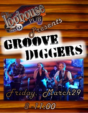 Groove Diggers @ the Loghouse Pub: Groove Diggers, Tomo Vranjes, Jeff Weaver @ Loghouse Pub Mar 29 2019 - Dec 9th @ Loghouse Pub