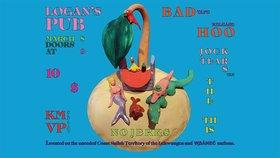 Bad Hoo, Jock Tears, KMVP, The This @ Logan's Pub Mar 8 2019 - Oct 20th @ Logan's Pub