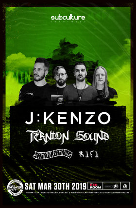 J:KENZO, Ternion Sound, SHINY THINGS, RIFI @ The Red Room Mar 30 2019 - Jul 23rd @ The Red Room