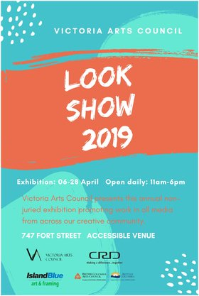 LOOK SHOW 2019 @ 747 Fort Street (Look Show 2019) Apr 6 2019 - Apr 24th @ 747 Fort Street (Look Show 2019)
