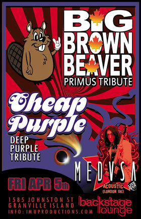 Primus & Deep Purple Tributes w/ rock