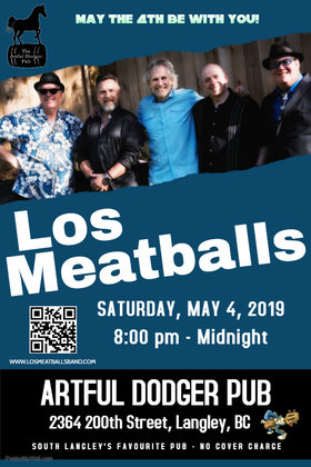Los Meatballs @ The Artful Dodger Pub May 4 2019 - Jul 23rd @ The Artful Dodger Pub