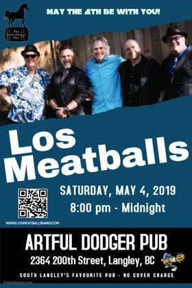 Los Meatballs @ The Artful Dodger Pub May 4 2019 - Apr 25th @ The Artful Dodger Pub