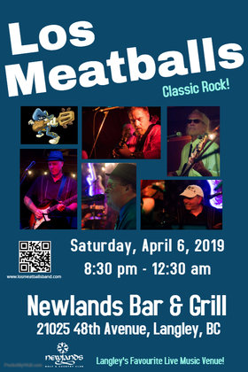 Los Meatballs @ Newlands Bar and Grill Apr 6 2019 - Apr 25th @ Newlands Bar and Grill