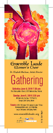 Gathering @ First Metropolitan United Church Jun 8 2019 - Apr 21st @ First Metropolitan United Church