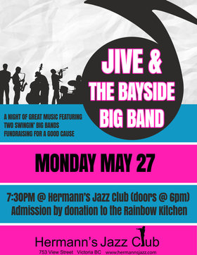JIVE and the Bayside Big Band @ Hermann
