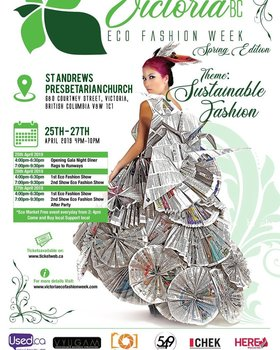 Victoria Eco Fashion Week @ St. Andrew
