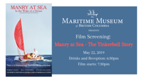 Film Screening: Manry at Sea @ Maritime Museum of BC May 22 2019 - Apr 21st @ Maritime Museum of BC