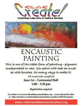 Encaustic Painting @ Upper Centennial Hall Jun 1 2019 - May 22nd @ Upper Centennial Hall