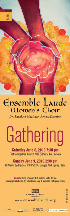 Gathering: Ensemble Laude @ First Metropolitan United Church Jun 8 2019 - Apr 20th @ First Metropolitan United Church