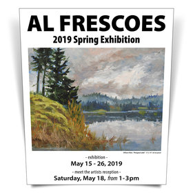 Al Frescoes 2019 Spring Exhibition @ Coast Collective Art Centre May 15 2019 - Apr 4th @ Coast Collective Art Centre