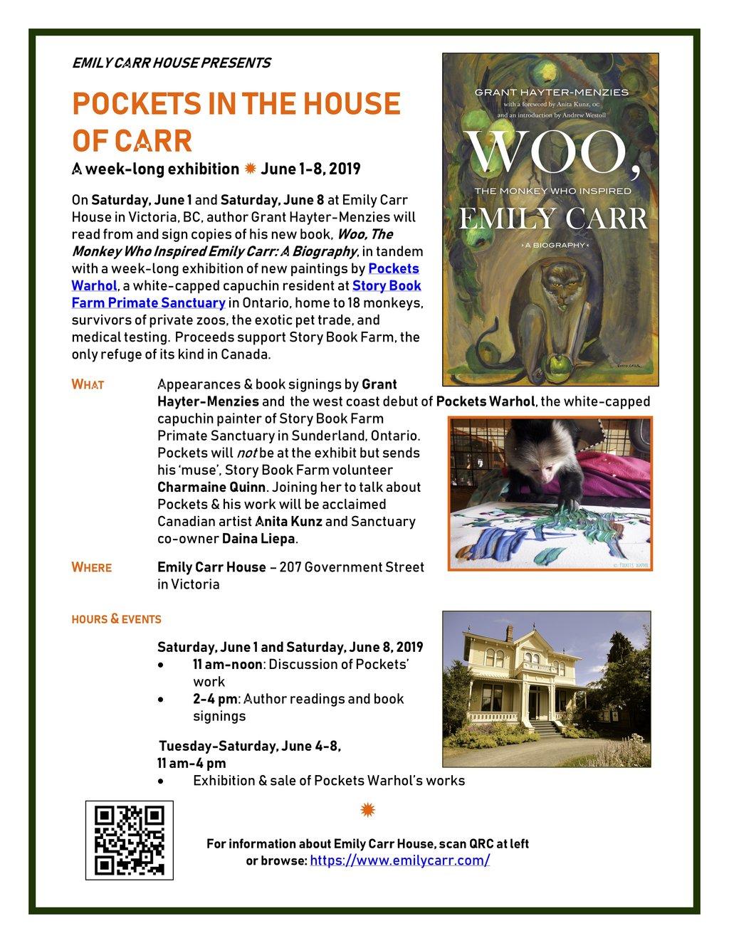 Pockets in the House of Carr: Grant Hayter-Menzies, Anita Kunz, OC