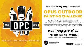 Opus Outdoor Painting Challenge @ Fisherman's Wharf Park May 26 2019 - Oct 24th @ Fisherman's Wharf Park