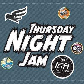 Thursday Night Jam @ The Loft @ The Loft (Victoria) Nov 7 2019 - Oct 16th @ The Loft (Victoria)