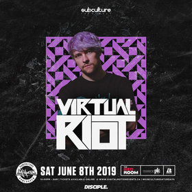 Virtual Riot at SUBculture Saturday's @ The Red Room Jun 8 2019 - Aug 22nd @ The Red Room